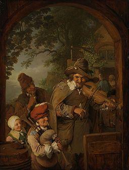 Christian Wilhelm Ernst Dietrich - Wędrowni muzykanci (1745)