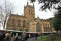 Christmas fair in the Priory churchyard - geograph.org.uk - 1599889.jpg