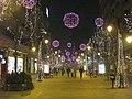 Christmas lights in Skopje, Macedonia. January 1st 2009.jpg