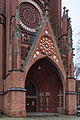 Christuskirche church entrance view Conrad-Wilhelm-Hase Platz Nordstadt Hannover Germany.jpg