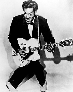 Chuck Berry American recording artist; rock-and-roll guitarist, singer, songwriter