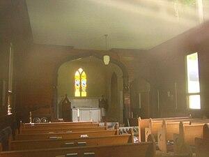 Church of the Good Shepherd (Syracuse, New York) - Image: Church Of The Good Shepherd inside 311sm
