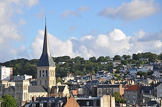 Upper Normandy - The Saint-Vincent neighborhood in Le Havre
