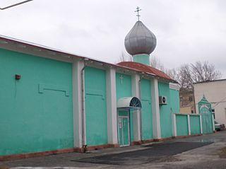 Bekabad City in Tashkent Region, Uzbekistan