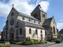 The church in La Neuville-en-Tourne-à-Fuy