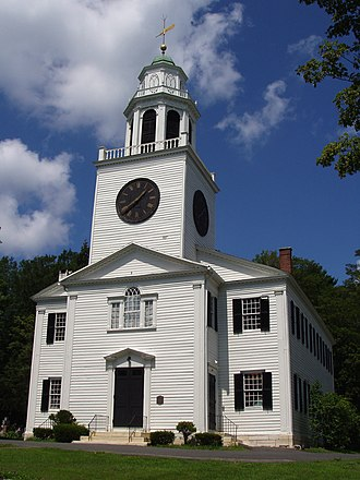 National Register of Historic Places listings in Massachusetts - Church on the Hill, in Berkshire County