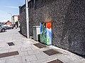 Church street (Dublin) - Street Art On Traffic Light Control Cabinet - panoramio.jpg