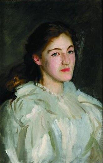 George Lambton - Cicely Horner (later Mrs. George Lambton), John Singer Sargent, c. 1889