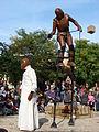 Cie Une de Plus-Trois Marionnettes en bois 29e Festival des vendanges (arts de la rue) Suresnes 2012.JPG