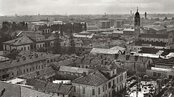 Panoramic view o Cinisello in the twenties