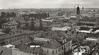 Cinisello Balsamo - Panoramic view of Cinisello in the twenties