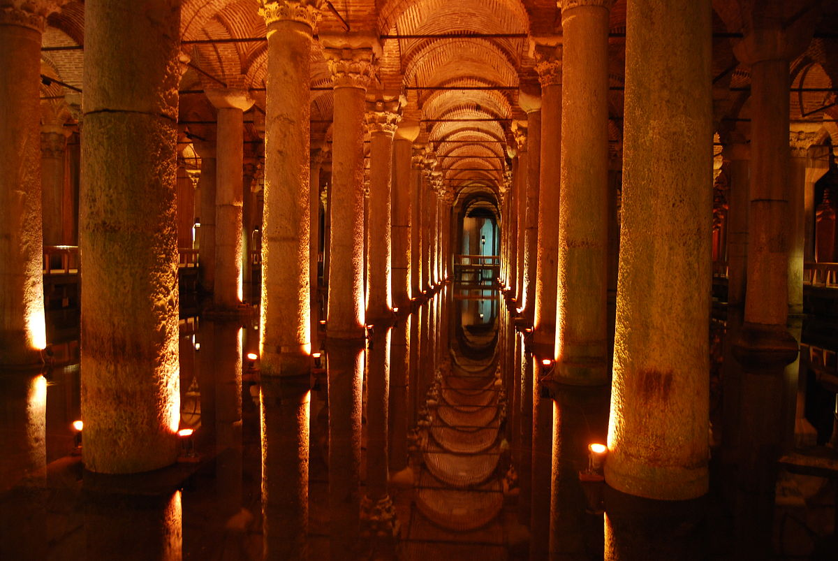 Basilica cistern wikipedia for Cisterna water