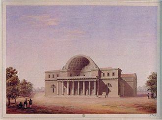 """Cisternoni of Livorno - """"La Gran Cisterna"""" at Livorno designed by Pasquale Poccianti."""