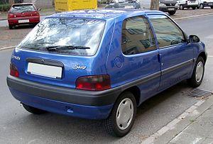 Citroën Saxo - Rear view
