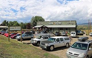 Clark, Colorado Unincorporated community in State of Colorado, United States