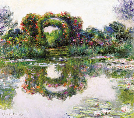 The collection includes Claude Monet's Flowering Arches, Giverny (1913) Claude Monet - Flowering Arches, Giverny.JPG