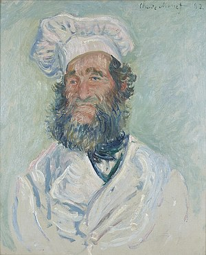 Portrait of Père Paul - Image: Claude Monet Le Chef Père Paul