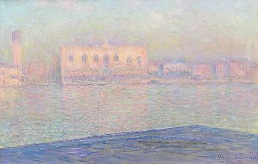 Claude Monet Le Palais Ducal vu de Saint-Georges Majeur