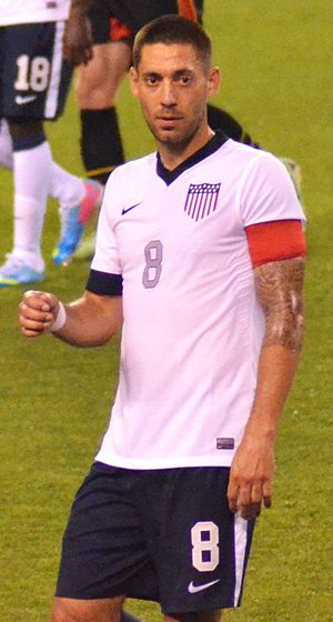 Clint Dempsey - Dempsey playing for the United States in May 2013