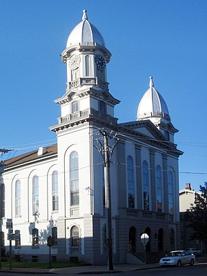 Clinton County, Pennsylvania - Image: Clinton County Pennsylvania Courthouse 2 crop