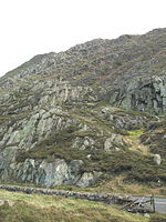 File:Clogwyn Mawr from Stamps - geograph.org.uk - 294459.jpg