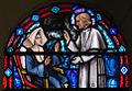 Clonmel SS. Peter and Paul's Church East Aisle Window 10 Saint Pius X Detail Upper Section 2012 09 07.jpg