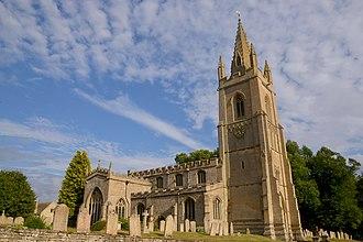 Empingham - Image: Cmglee Empingham church