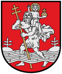 Coat of arms of Vilnius Gold.png