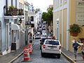 Cobblestone street in Old San Juan, Puerto Rico.JPG