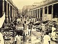 Coconut market on Cornwallis Street, Calcutta in 1945.jpg