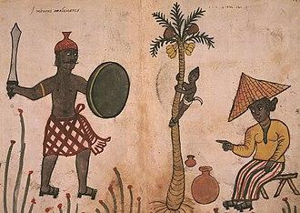 Mappila - Image: Codice Casanatense Malabarese Muslims (cropped)