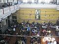Coffee house view from 1st floor, college street in Kolkata.JPG