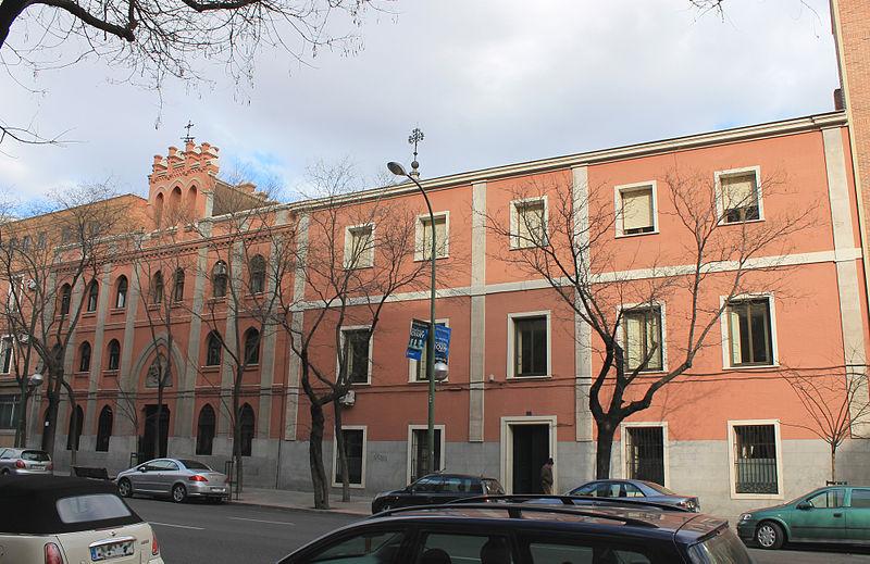 File colegio divina pastora madrid wikimedia - Colegio escolapias madrid ...