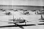 Coleman Municipal Airport - Fairchild PT-19s on Parking Ramp.jpg