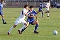 College soccer yates iu v tulsa 2004.jpg