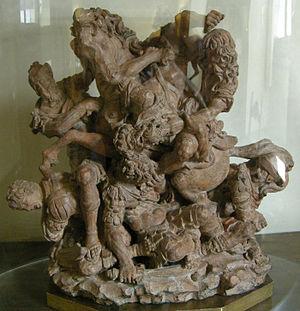 Giovanni Francesco Rustici - A Group of Warriors by Giovanni Francesco Rustici, Palazzo Vecchio