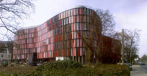 Sauerbruch Hutton - Cologne Oval Offices on Gustav-Heinemann-Ufer, Cologne - completed in 2010