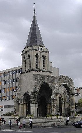 Ancienne église St Pierre St Paul de Colombes (92)