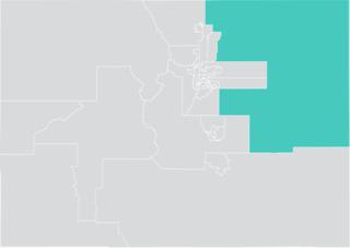 Colorados 1st Senate district American legislative district