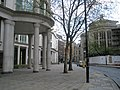 Columns supporting building in Basinghall Street - geograph.org.uk - 767137.jpg