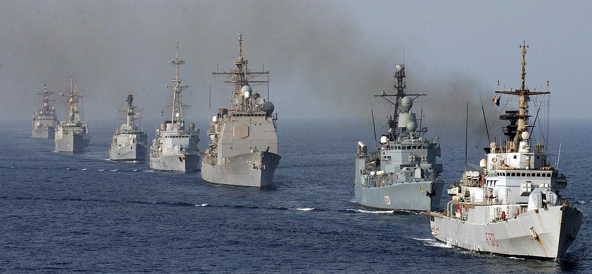 Αποτέλεσμα εικόνας για western coalition fleet in eastern med