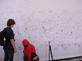 Comic-Con 2010 - fans sign the wall at the Scott Pilgrim vs Comic-Con Experience (4874441119).jpg
