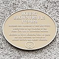 Commemorative plaque to Robert Brown 20200107.jpg