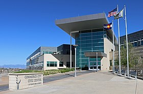 Commerce City Civic Center (Commerce City, Colorado).JPG