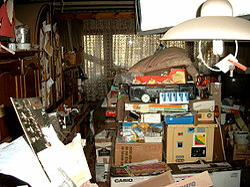definition of hoarding