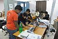 Conference Preparation - Bengali Wikipedia 10th Anniversary Celebration - Jadavpur University - Kolkata 2015-01-07 2319.JPG