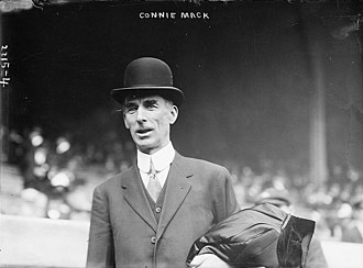Philadelphia Baseball Wall of Fame - Image: Connie Mack in 1911