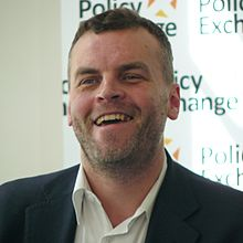 ConservativeHome's Tim Montgomerie speaking at the launch of PX report 'Northern Lights'.jpg