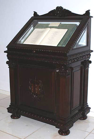 Constitution of Brazil - The original copy of the Constitution