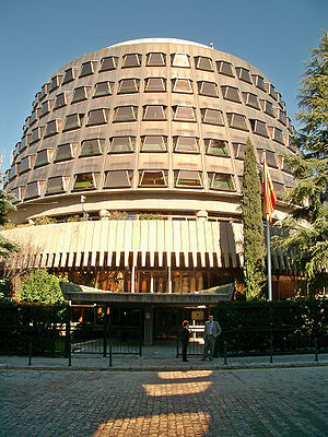 Constitutional Court of Spain - The Constitutional Court of Spain, in Madrid.
